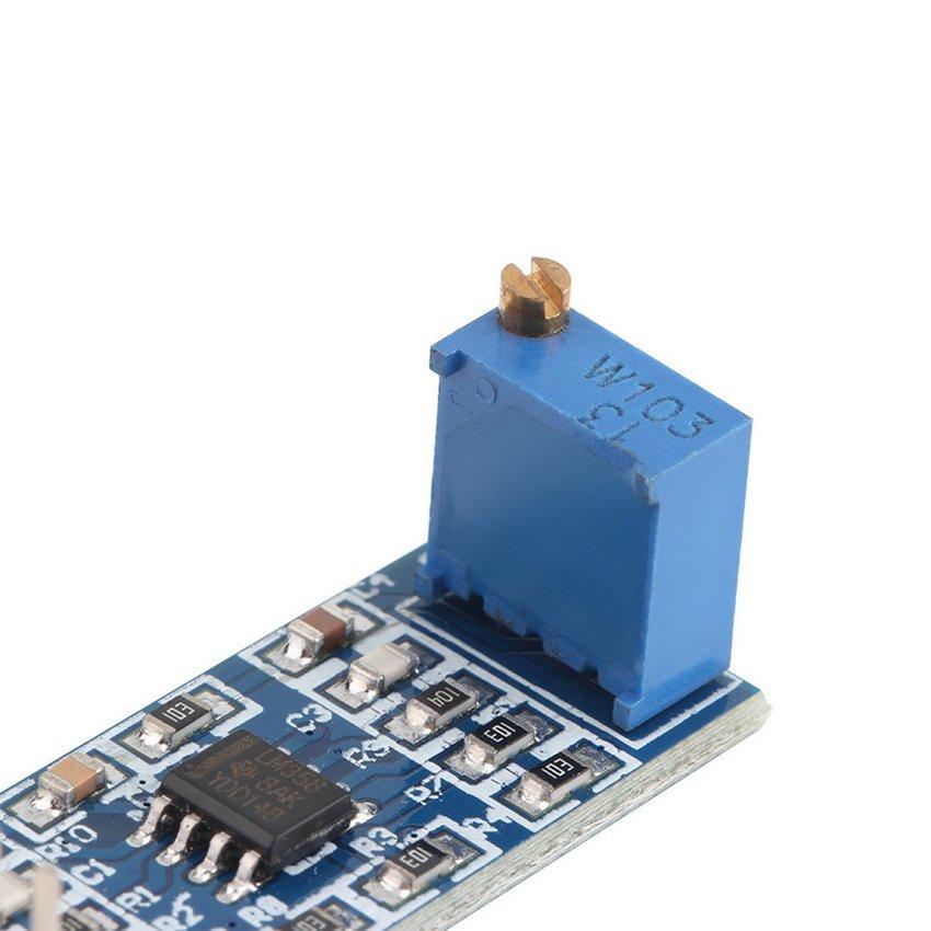 LM358 100 Gain Signal Amplification Module Operational Amplifier DC5-12V HC