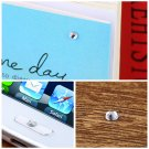 3mm Dazzling Resin Artificial Diamonds Car Mobile PC Decoration Sticker HC