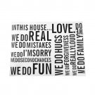 Wall Quote Letter Art Decal Removable Wall Stickers Art Home Decals Decor HC