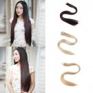 Stealth Human Hair Extensions Heat Resistant Synthetic Tape-in Hair HC
