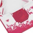 Portable LED Christmas Tree Folding Pocket Card Night Light Lamp Xmas Gift HC