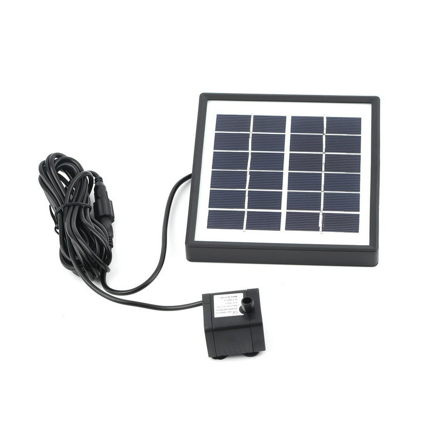 Solar Fountain  GY-D-0015 Submersible Panel Power Pump Home Garden Pool Pond HC