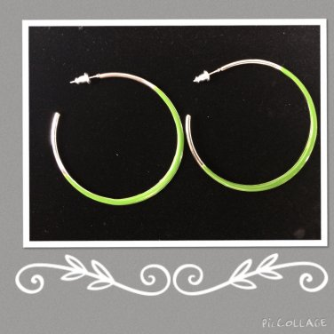 Fashion stud Hoops