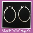 "Fashion ""teardrop"" Hoops"