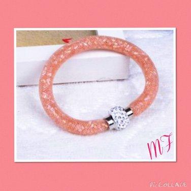 """Shambala mesh Crystal"" bracelet"