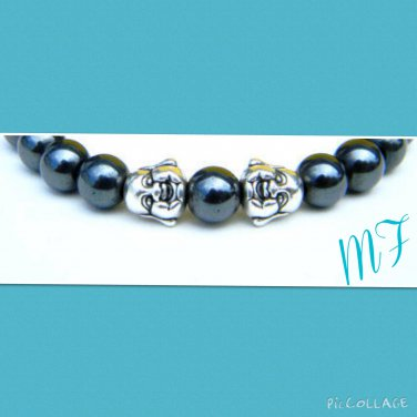 """""""Buddha"""" beaded bracelet"""