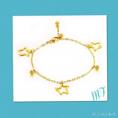 """Estrella de Mar"" Stainless steel Anklet"