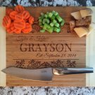 Personalized Cutting Board 11 x 14 Bamboo – Grayson Style