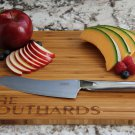 Personalized Cutting Board - Southard Style - Bamboo 11 x 14