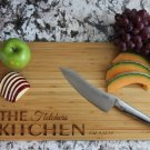 Personalized Cutting Board 11 x 17 Bamboo– Fletcher Style