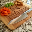 Personalized Cutting Board 11x13 Bamboo– Nielson Style