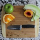 Personalized Cutting Board 11x13 Bamboo – Hamilton Style