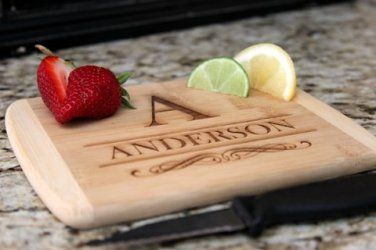 Personalized Cocktail Cutting Board 6x8 - Anderson Style