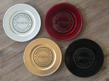 Personalized Decorative Plates - Jenson Style