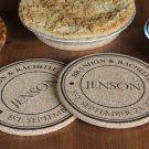 Personalized Large Kitchen Hot Pads - Set of 2! - Jenson Style