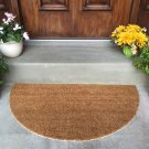 Extra Large Latex-backed 100% Coir Circular Door Mat