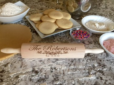 Personalized Rolling Pins - Robertson Style