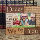 Personalized Dad/Grandpa/Papa Photo Frames