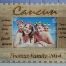 Personalized Vacation Photo Frames