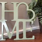 Home Wooden Monogram