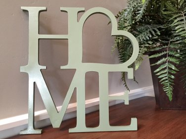 Home Wooden Monogram