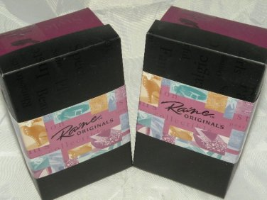 """Just the Right Shoe Collectible 3"""" Shoes w Boxes Touch of Lace and Wave 2 Shoes"""