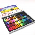MUNGYO Art Soft Pastel Set, Non-Toxic, Mini Half Size, Square Chalk - 64 Color