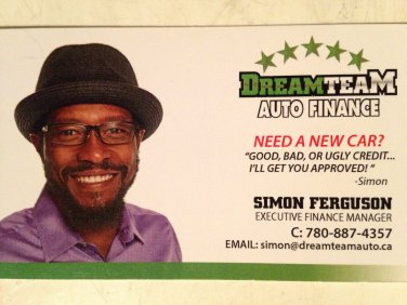 DreamTeam Auto Finance - Edmonton, Alberta, Canada