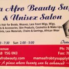 Mama Afro Beauty Supply & Salon - Edmonton, Alberta Canada