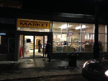 Kasoa Tropical Food Market - Edmonton, Alberta Canada
