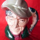 VINTAGE ROYAL DOULTON THE POACHER D6464 TOBY JUG