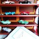 VINTAGE DIECAST CARS FRANKLIN MINT CADILAC CORVETTE