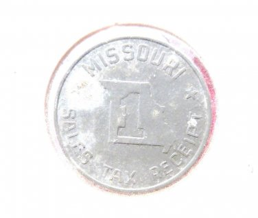 VINTAGE TAX COIN UNITED STATES TAX TOKEN