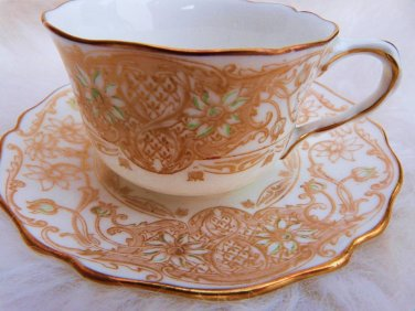 ROYAL DOULTON TEACUP SAUCER KINGS WARRANT TEA CUP & SAUCER