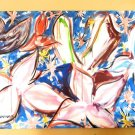 ROBERT JENNINGS ART ON CANVAS BLUE BAYOU CORPORATE INVESTMENT ART