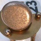 HENRY TOUCHON VINTAGE POCKET WATCH STERLING SILVER ENGRAVED CASE ORNATE SCRIBED