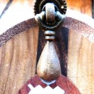 VICTORIAN TEAR DROP DOOR PULL BRASS DROP PULL