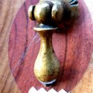VICTORIAN TEAR DROP DOOR PULL BRASS DRAWER PULL