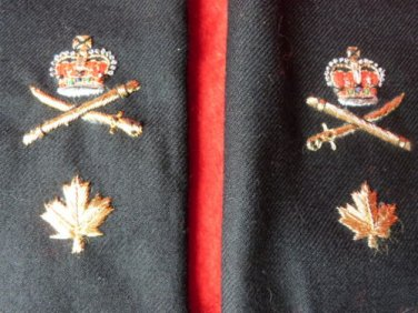 VINTAGE EPAULETS GENERAL SHOULDER RANK CANADIAN FORCES