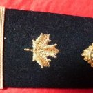 VINTAGE EPAULET RCF SHOULDER BOARD CANADIAN COAST GUARD RANK ENGINEER