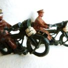 BRITAINS LEAD MOTORCYCLE BRITAINS SOLDIER DISPATCH RIDER 1914 BRITISH