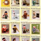 25 x Vintage Woolly Wotnots – 25 x Knitting Patterns on CD – bumper auction