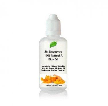 25ml 10% Pure Retinol A Oil � Acne, Facelift, Wrinkles - Buy2Get3 - 25ml