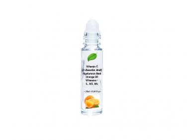 12ml glass roll-on Finest Vitamin C Hyaluronic Acid 100% Serum - Anti-Aging - 12ml
