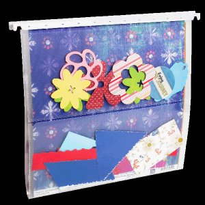 Scrap-eze Hanging File Scrap Storage