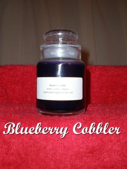 Blueberry Cobbler 5 oz. Apothecary Jar Candle