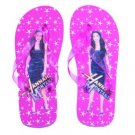 Hannah Montana Flip Flop Sandals~Pink Size Small