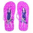 Hannah Montana Flip Flop Sandals~Pink Size Large