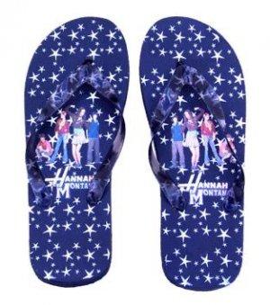 Hannah Montana Flip Flop Sandals~Black Size Small