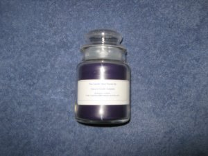 Blueberry Cobbler 5 Ounce Apothecary Jar Candle
